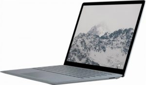 Image of Surface laptop